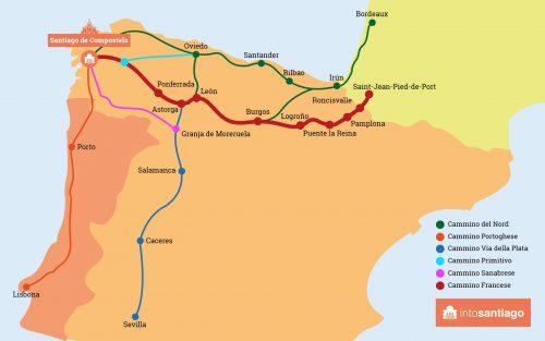 Cammino di Santiago: quale scegliere? [GUIDA DEFINITIVA]